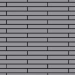 Mosaik Fliese massiv Metall Edelstahl matt in grau 1, 6mm stark ALLOY Avenue-S-S-MA 0, 74 m2