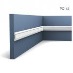 Wandleiste Zierleiste von Orac Decor PX144 AXXENT Profilleiste Friesleiste Stuckprofil Wand Rahmen Dekor Element 2 Meter
