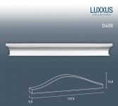 Pediment Türaufsatz Stuck Orac Decor D400 LUXXUS Zierelement Stuckprofil Stuckgesims klassisches Dekor weiß | 127 cm