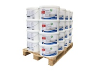 Wandfarbe PROFHOME Rapidweiß scheuerbeständige Profi-Innenfarbe hochdeckend matt weiß ELF | 1 Pal. 400 Liter für 2560 qm