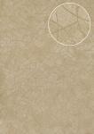 Grafik Tapete Atlas STI-5106-2 Vliestapete geprägt in Felloptik schimmernd beige hell-elfenbein cappuccino perl-beige 7, 035 m2