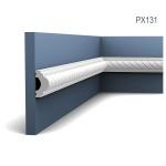 Wandleiste Zierleiste von Orac Decor PX131 AXXENT Profilleiste Friesleiste Stuckprofil Wand Rahmen Dekor Element 2 Meter