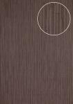 Präge Tapete Atlas INS-5078-1 Strukturtapete geprägt mit Streifen schimmernd anthrazit grau-braun schwarz-rot 7, 035 m2