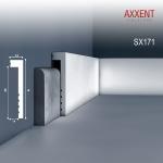 Sockelleiste Orac Decor SX171 AXXENT Zierleiste Fußleiste Modernes Design weiß 2m