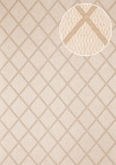 Grafik Tapete Atlas PRI-065-4 Vliestapete glatt mit Rauten Muster schimmernd oliv oliv-grau kiesel-grau perl-beige 5, 33 m2
