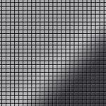 Mosaik Fliese massiv Metall Edelstahl marine hochglänzend in grau 1, 6mm stark ALLOY Glomesh-S-S-MM 1, 07 m2