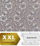 Blumen Tapete Luxus Vliestapete XXL EDEM 995-34 Florale Barock-Optik Metallic Effekt braun silber grau metallic 10, 65 m2