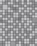 Küchen Bad Tapete EDEM 1033-16 Vinyltapete geprägt mit geometrischen Formen und metallischen Akzenten silber platin grau 5, 33 m2