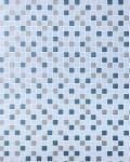 Mosaikstein Tapete Küchentapete EDEM 1022-12 Fliesen Kacheln Tapete mit geprägter Struktur hellblau taubenblau petrol silber