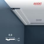 Dekor Stuckleiste Wand Orac Decor CX161 AXXENT Zierleiste Profilleiste Profil Decken Boden Leiste | 2 Meter