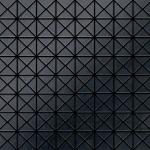 Mosaik Fliese massiv Metall Rohstahl gewalzt in grau 1, 6mm stark ALLOY Deco-RS 0, 92 m2