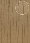 Streifen Tapete Atlas COL-567-1 Vliestapete glatt Design schimmernd braun khaki-grau gold 5, 33 m2