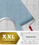 Struktur Tapete Streichbar EDEM 341-60 25 Meter überstreichbare Vlies-Tapete kreative dekor-optik weiß | 26, 50 qm