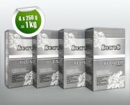 4x 250 g STATUS PROFI Kleister | Kleber für alle Vlies-Tapeten Malervlies Renoviervlies | 1 kg für 160 qm Vliestapeten