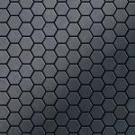Mosaik Fliese massiv Metall Rohstahl gewalzt in grau 1, 6mm stark ALLOY Honey-RS 0, 92 m2