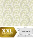 Grafik Vliestapete EDEM 915-30 XXL Präge Retro Tapete geschwungene abstraktes Muster beige creme gold 10, 65 qm