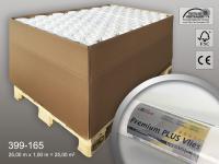 Armierungsvlies Profhome 160 g 77 Rollen Palette 1925 m2 PremiumVlies PLUS rissüberbrückend streichbar Renoviervlies Glattvlies Tapeten