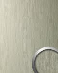 Wandpaneel Metall-Dekor matt Struktur Wandverkleidung WallFace 12448 DECO CHAMPAGNE selbstklebend hell grau | 2, 60 qm