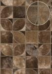 Präge Tapete Atlas SKI-5068-5 Vliestapete geprägt in Felloptik schimmernd braun braun-beige sepia-braun oliv-braun 7, 035 m2