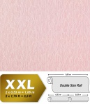 Uni Tapete Vliestapete EDEM 930-39 Hochwertige geprägte Stuktur Textiloptik hellrosa Silberschimmer-Effekt 10, 65 qm