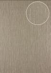 Grafik Tapete Atlas 24C-5057-5 Vliestapete strukturiert mit abstraktem Muster und Metallic Effekt braun bronze 7, 035 m2
