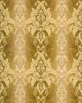 3D Barock-Tapete Damask EDEM 770-31 Luxus Tapete hochwertige 3D Brokat Struktur olive-grün pistazien hell grün bronze