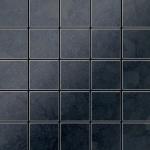 Mosaik Fliese massiv Metall Rohstahl gewalzt in grau 1, 6mm stark ALLOY Century-RS 0, 5 m2