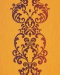Barock Tapete Vintage EDEM 178-21 Tapete Modern Art Ornamente gelb-orange braun perlmutt