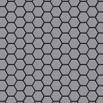 Mosaik Fliese massiv Metall Edelstahl matt in grau 1, 6mm stark ALLOY Honey-S-S-MA 0, 92 m2