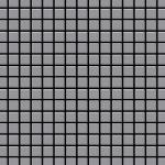 Mosaik Fliese massiv Metall Edelstahl matt in grau 1, 6mm stark ALLOY Mosaic-S-S-MA 1, 04 m2
