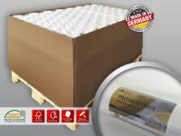 Renoviervlies Profhome PremiumVlies 150 g Profi-Malervlies Glattvlies Vlies-Gewebe überstreichbar 1 Palette 1925 m2 77 Rollen