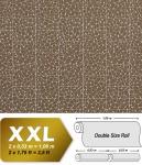Stein Vliestapete EDEM 928-36 Luxus-Decor mosaik-fliesen-kacheln optik kakao-braun silber 10, 65 qm