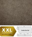 Uni Tapete EDEM 9009-26 Vliestapete geprägt mit abstraktem Muster glänzend braun grau silber 10, 65 m2