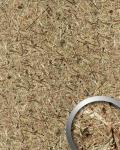 Wandverkleidung Natur Dekor WallFace AL-11001-SA ALPINE PURE selbstklebende Tapete strukturiert mit echten unbehandelten alpinen Blumen und Gräsern matt braun beige 4, 026 m2