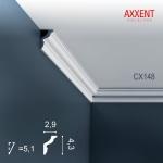 Stuck Leiste Eckleiste Orac Decor CX148 AXXENT Zierleiste Profilleiste Wand Leiste Decken Leiste | 2 Meter