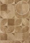 Präge Tapete Atlas SKI-5068-3 Vliestapete geprägt in Felloptik schimmernd braun grau-beige oliv-braun 7, 035 m2