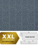 Stein Vliestapete EDEM 928-37 Luxus-Decor mosaik-fliesen-steinchen blau silber | 10, 65 qm