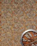 Wandpaneel Vintage Barock WallFace 14801 IMPERIAL Damask selbstklebende Tapete Dekor Wand-belag kupfer braun | 2, 60 qm