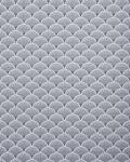 Retro Tapete EDEM 1031-16 Vinyltapete geprägt mit grafischem Muster glitzernd weiß silber 5, 33 m2