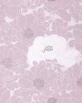 Blumen Tapete EDEM 025-24 Blumentapete Designer Floral harmonische Farbkombination lavendel pastell-violett hell-lila