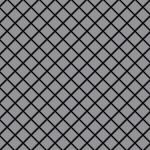 Mosaik Fliese massiv Metall Edelstahl matt in grau 1, 6mm stark ALLOY Diamond-S-S-MA 0, 91 m2