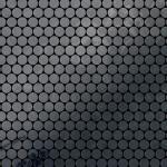 Mosaik Fliese massiv Metall Rohstahl gewalzt in grau 1, 6mm stark ALLOY Penny-RS 0, 92 m2