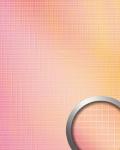 Wandpaneel Wandverkleidung WallFace 18436 M-Style HOLLYWOOD Mosaik selbstklebend spiegelnd pink orange Verlauf 0, 96 qm