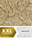 Blumen Tapete EDEM 9010-32 Vliestapete geprägt im Barock-Stil glänzend gold braun bronze 10, 65 m2