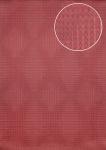 Grafik Tapete Atlas ICO-5074-5 Vliestapete glatt mit geometrischen Formen und metallischen Akzenten rot rubin-rot purpur-violett 7, 035 m2