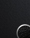 3D Wandpaneel WallFace 13472 FLORAL Luxus Leder Dekor Barock Blumen selbstklebende Tapete Wandbelag schwarz | 2, 60 qm
