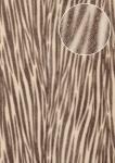 Tiermotiv Tapete Atlas STI-5103-5 Vliestapete geprägt in Felloptik schimmernd grau rein-weiß grau-braun 7, 035 m2