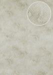 Tiermotiv Tapete Atlas STI-0015-1 Vliestapete geprägt mit Schlangenmuster schimmernd creme perl-weiß hell-elfenbein 7, 035 m2