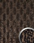 Wandpaneel Leder Wandplatte WallFace 14324 PELZ SAVANNA Pelzlook selbstklebend braun   2, 60 qm