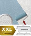 Barock Tapete EDEM 83004BR60 Vliestapete zum Überstreichen strukturiert mit Ornamenten matt weiß 26, 50 m2